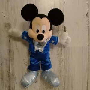 "Disney Dream Friends Plush 11"" MICKEY MOUSE Blue"